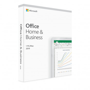 Microsoft Office Home and Business 2019 - Lisenssi - 1 PC/Mac