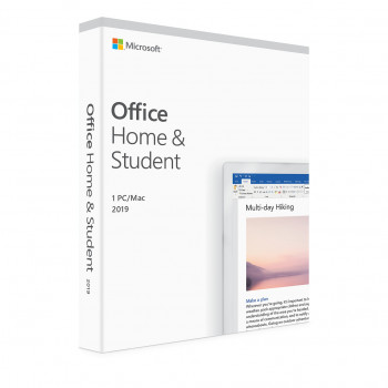 Microsoft Office Home and Student 2019 - Lisenssi - 1 PC/Mac