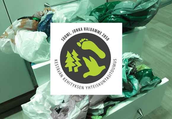 Taitonetti lopettaa muovipussien käytön myymälässä