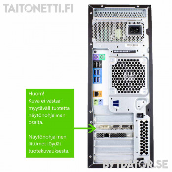 Hp Z440 Xeon E5-1650 v3/16GB/480SSD+1000GB/RTX2070/W10