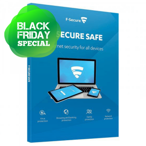 F-Secure SAFE - Lisenssi 1v/1pc