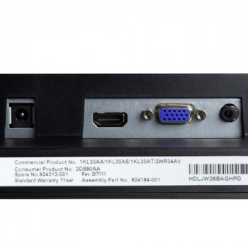 "HP Display VH240a 24"""
