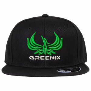 Greenix - Logo snapback (Black)